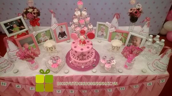 tổ chức sinh nhật bé phương linh